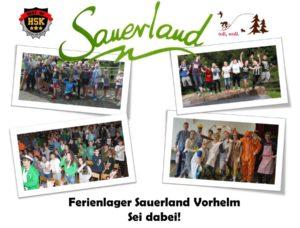 Ferienlager Sei dabei Vorhelm_Sauerland